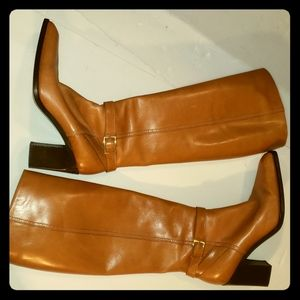 Michael PERRY knee-high leather boots sz 6.5